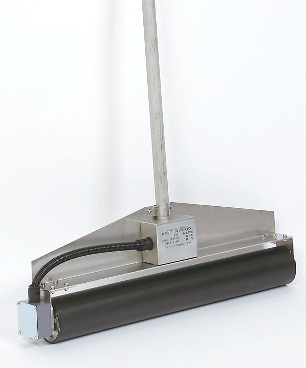 ゴムチップ舗装用加熱ローラー